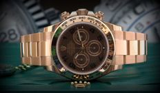 Rolex Daytona Rose Gold, Everose, New, Italian warranty. Full Set, Chocolate Dial