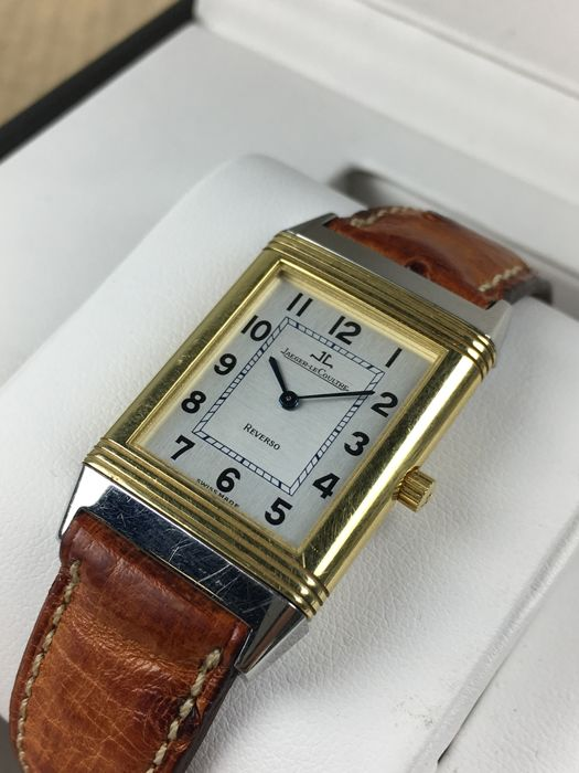 53c4707e92aa Jaeger-LeCoultre Reverso Classic 18 kt Gold Steel hand-wound ref  250.5.86  watch