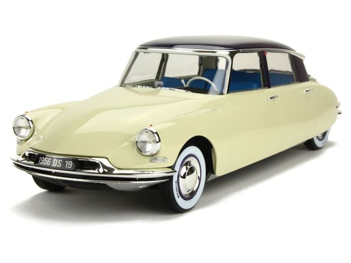 Norev - 1:18 - Citroën DS 19 1956 Salon de Paris - Octobre 1955