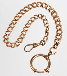 Antique pocket watch chain, around 1930