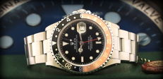 "Rolex Gmt Master II - 16710 - Faded Coke Inser - Raro dial "" Only Swiss"" - Case Never Polished Like New"