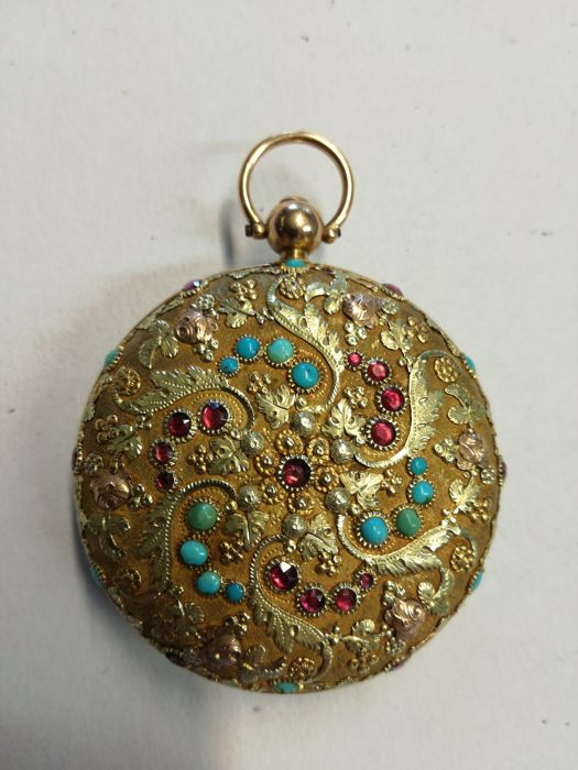 Unbranded 'catalino' pocket watch, circa 1800