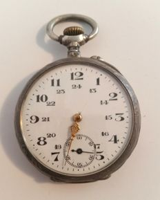 Silver pocket watch - around 1900-1910