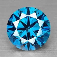Blue Diamond – 0.11ct
