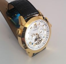 Calvaneo 1583 'Astonia Shiny Gold' automatic – men's wristwatch – 2017 – new