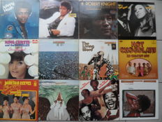 Lot of 12 Soul,Funk Albums , Including 2 Live Albums with Stax Label Artists