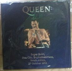 Queen - Super Bowl South Africa 1984 || Near mint || Limited edition || Numbered || Coloured