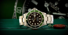 Rolex Submariner Date 16610LV – Like new – Never polished – Card RRR – M – Full set