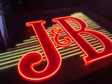 JB luminous sign. In perfect condition. 80s.