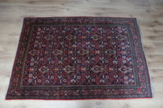 Hand-knotted Persian carpet Bidjar 20th century