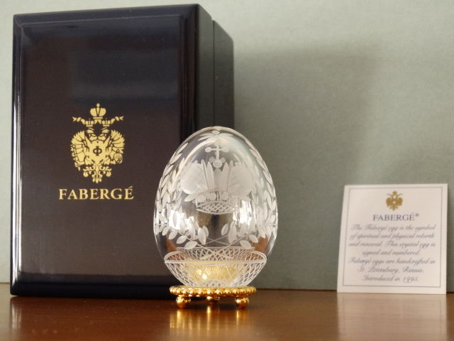 Fabergé - Authentic Imperial Egg Fabergé - Crystal