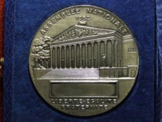 France - Medal 'Assemblée Nationale' 1962 by Robert Cochet - Silver