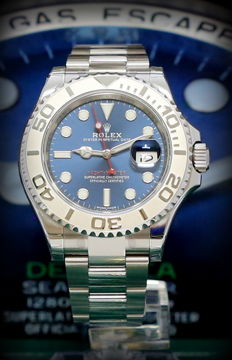 Rolex Yacht-Master 116622, Blue Dial, New from 2017, Italian warranty, Full Set