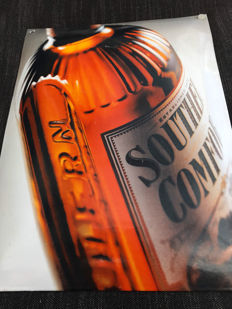 Beautiful enamel advertising sign Southern Comfort Whiskey -USA- 2nd half of 20th century