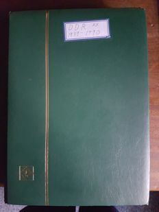 GDR of East Germany 1949/90 - collection in a stock book