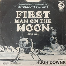 NASA - First Man On The Moon 45RPM Record