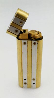 Vintage Cartier Gold Silver Two Tone lighter