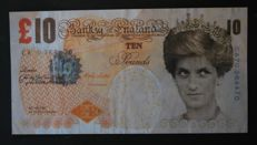 "Miscellaneous - Great Britain - original Banksy ""Tenner"""