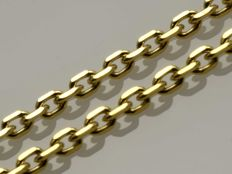 18k Gold Necklace. Anchor Chain - 50 cm. No reserve price.