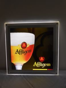 Beer - AFFLIGEM - illuminated advertising sign led - Ca. 2012