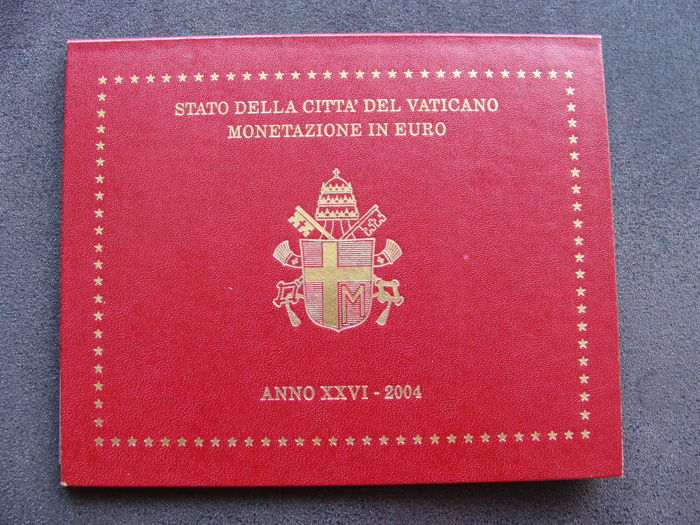 Vatican – Year pack 2004, John Paul II