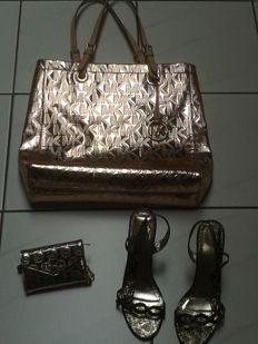 Michael Kors bag, wallet   and Knup evening shoes - Italian design