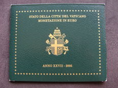 "Vatican – year pack/ year collection 2005, ""Johannes Paulus II""."
