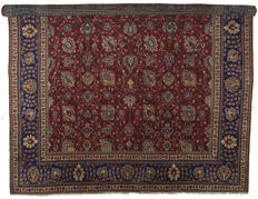 ANTIQUE genuine Persian Tabriz rug - HAND-KNOTTED - TABRIZ, PERSIA / IRAN - Period: 1940-1950 - Dimensions: 307 x 307 cm - With a Certificate of Authenticity from an official appraiser (Galleria Farah 1970) - 94705
