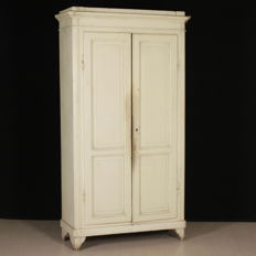 Two-door wardrobe - Italy - mid 19th century