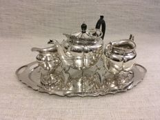 Vintage silver plated tea set ( M&Co) England