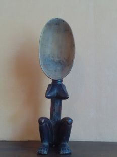 Tribal spoon with legs - DAN - Ivory Coast