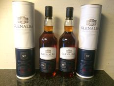 2 bottles - Glenalba 27 years old