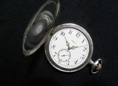 Bautiful Old Silver Omega Pocket Watch '900