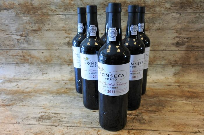 2011 Late Bottled Vintage Port Fonseca Unfiltered - 6 Bottles