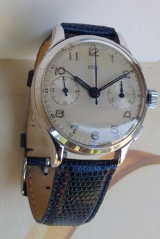 Arsa chronograph men's watch, Swiss-made, 1940s