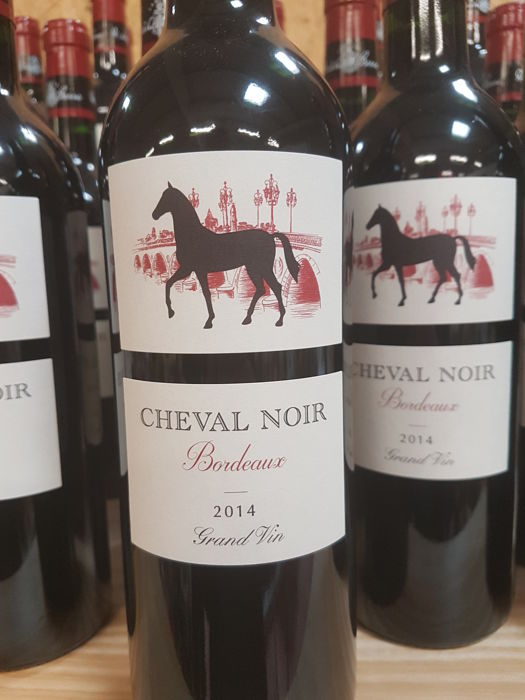 2014 cheval noir bordeaux 12 bottles 2013 cheval noir bordeaux 12 bottles 24 bottles. Black Bedroom Furniture Sets. Home Design Ideas
