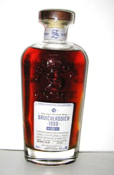 Bruichladdich 1990 24 years - Islay Single Malt - 70cl - 56,5% - Signatory Vintage - Gift box