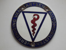 Nice Car badge of the Vereeniging van Artsen Automobilisten