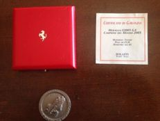F2003 GA Ferrari medal - World champion 2003 + Guarantee certificate