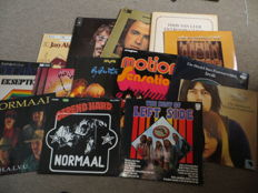 Dutch Rock, Pop and Psych Folk LP's; Various Artists - lot of sixteen (16) LP's,  sixties, seventies