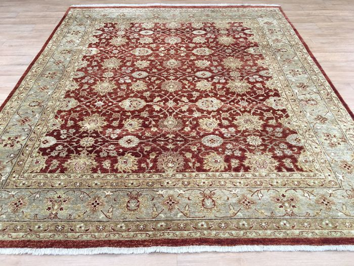 Modern hand-knotted ZIEGLER FARAHAN – 293 x 251 cm – made in Afghanistan – certificate included