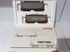 Märklin H0 - 47211 - Set of 2 Coil carriages of the FRED SNCF (1269)