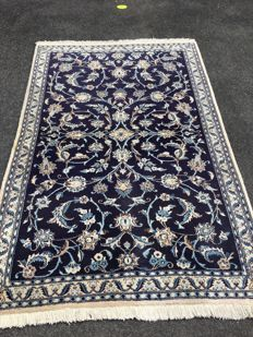 Oriental carpet - Persian Nain - 100 % hand-knotted - value investment
