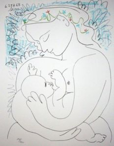 Pablo Picasso (after) - Maternidad