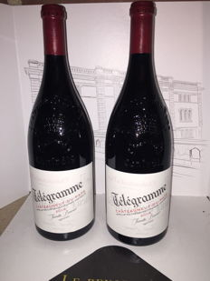 2014 Chateauneuf-du-Pape Rouge Telegramme - 2 magnum (1.5ltr)