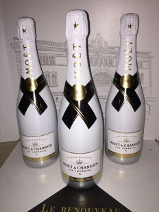 Moët & Chandon Ice Imperial Champagne, non-vintage - 3 bottles (75cl)