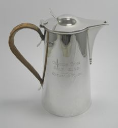 Arts & Crafts silver hot water pot - Queens Park Golf Club Veteran's Prize, Martin Hall & Co