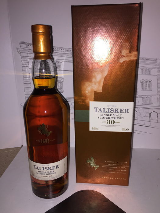 Talisker 30 years old - 70 cl 45.8%