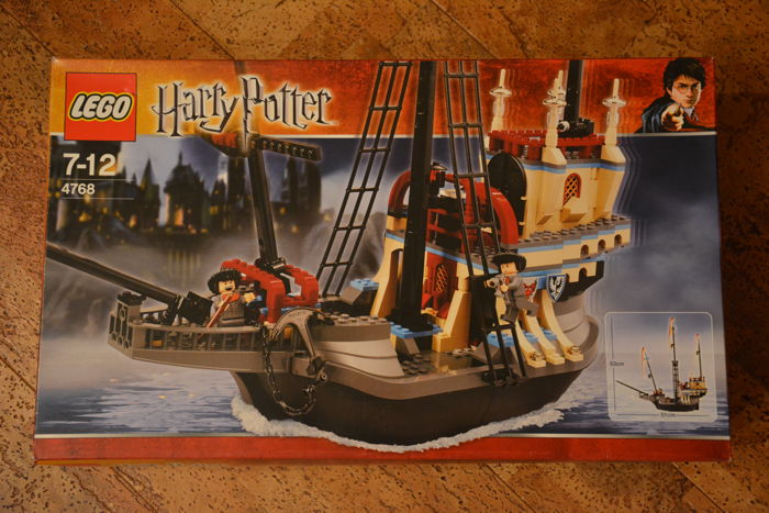 Harry Potter 4768 The Durmstrang Ship Catawiki Please print with a pen in capital letters. catawiki