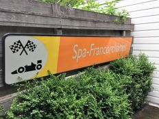 Spa Francorchamps F1 circuit sign - 260 cm